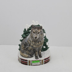 Grey Wolf Cookie Jar