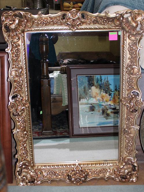 Vintage Gilded Gold Trim Mirror