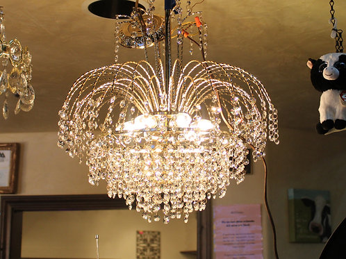 Fountain Crystal Chandelier