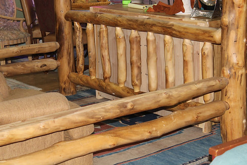 Gnarly Aspen King Size Bed
