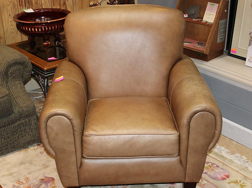 Leather Creations Leather Club Chair