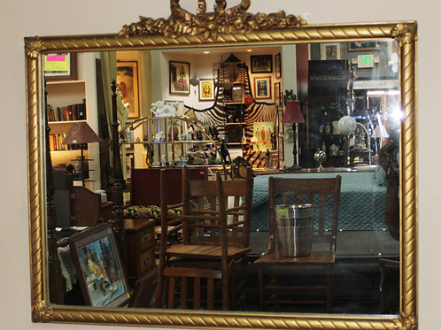 Antique Victorian Wall Mirror