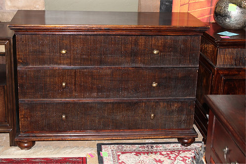 Congo Style Walnut Bachelor's Chest
