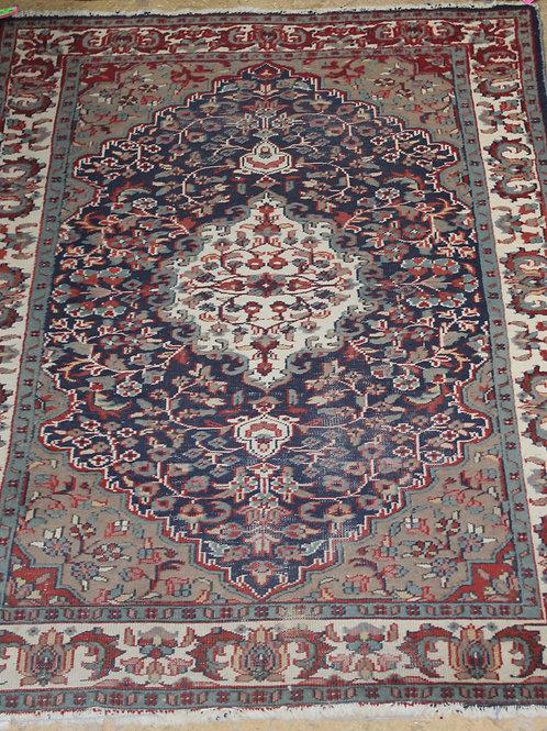 Turkish Tribal Hand Woven Wool Persian Rug