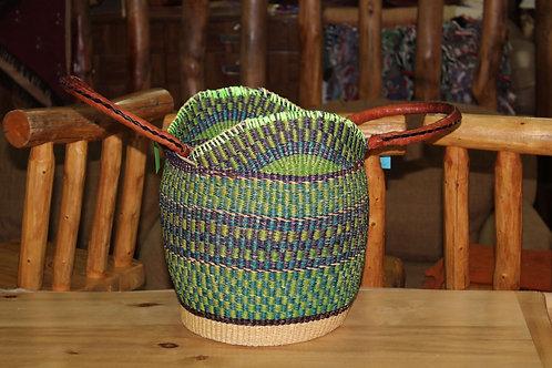 Woven Bolga Market Basket