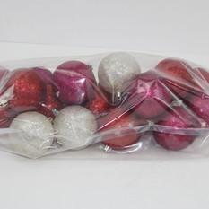 Glitter Ball Shatter Proof Ornaments