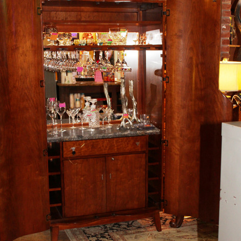 Caracol Hide-Away Bar $2,000
