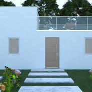 Entrada a casa diseño.