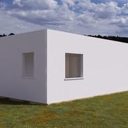 Parte lateral y trasera con ventanas.