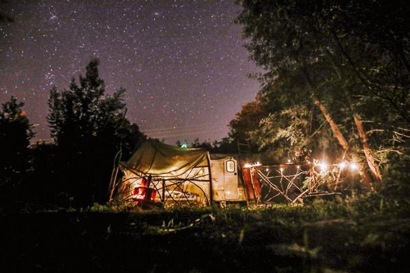 under the stars of Orbacém
