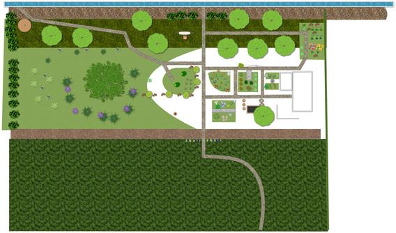 Plan of our GG 21 garden in spring 2021