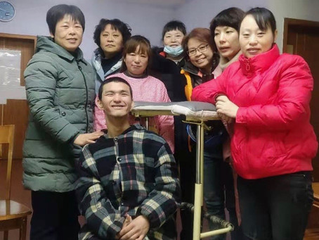 Vocational training in Changsha Care Centre: Quan's Story