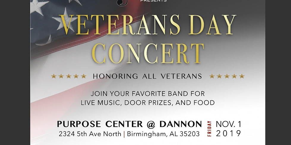 3rd Annual Official Clutch Band Veterans Day Concert