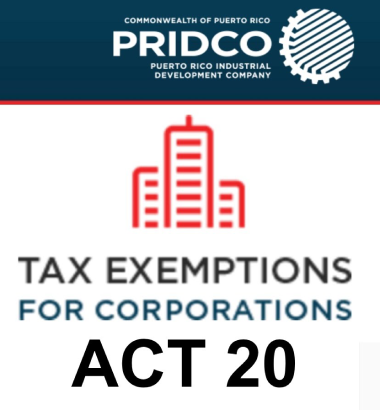 Guidance through Act 20 / 60 Tax Decree