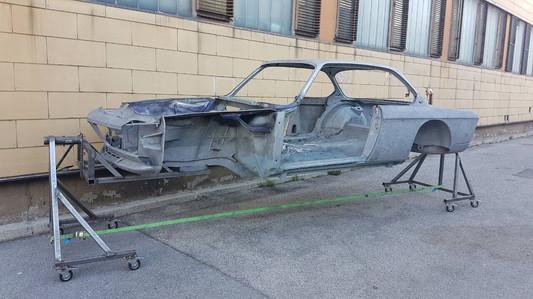 BMW-635csi Rohkarosse