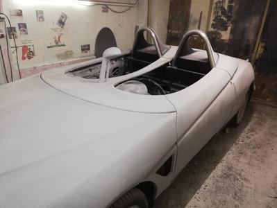 Mono- und Duospider auf Basis eines Alfa Romeo Spider