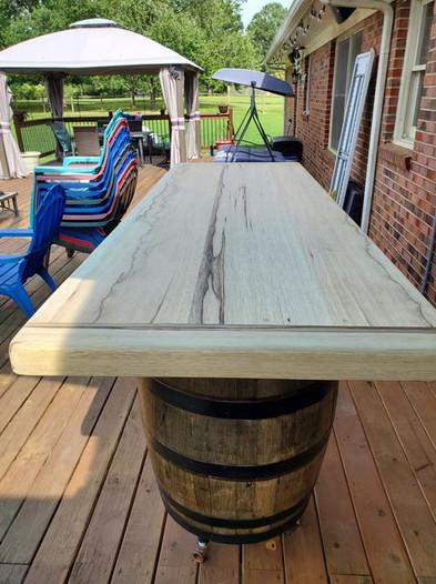 Black Limba Table Top