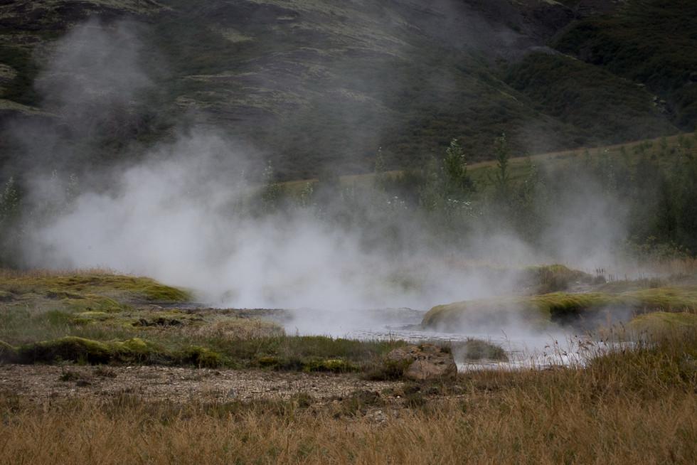 ICELAND - Geysir Hot Springs