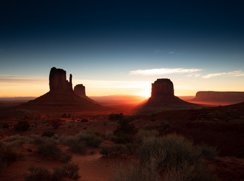 Monument Valley - great American road trip