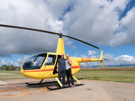 Kauai, Hawaii by helicopter