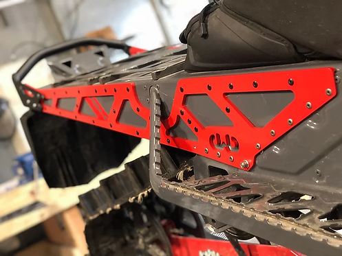 Backwoods BMP ARCTIC-CAT Rear Bumper