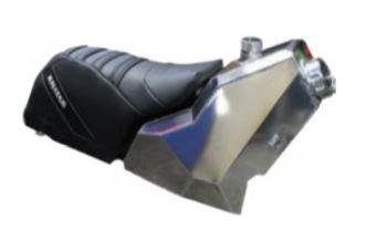 Skinz AXYS Gas Tank & Frameless Seat Kit
