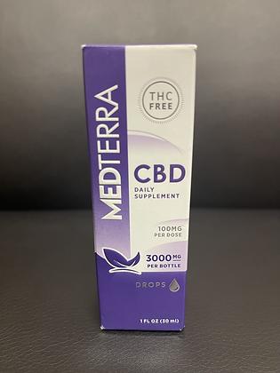 MEDTERRA 3000mg CBD Drops