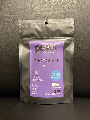 Peak Extracts CBN Chocolate