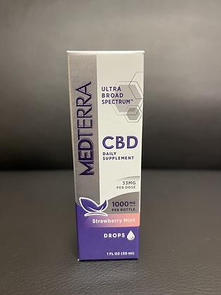 MEDTERRA 1000mg CBD Drops