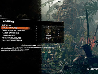 Shadow of the Tomb Raider leads by example with accessibility