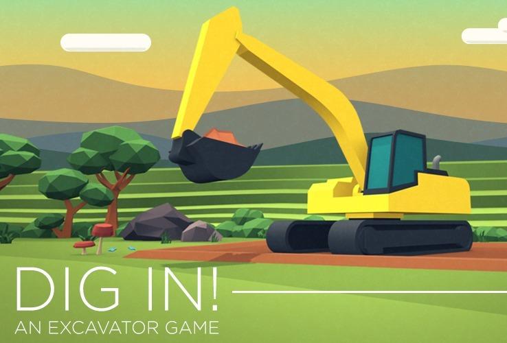 Dig In: Excavator Game