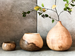 Various pots and vases by London craftsm