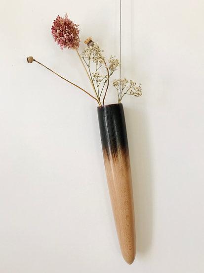 Hanging vase - semi scorched