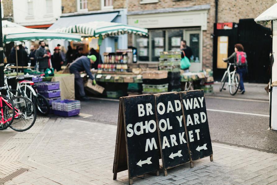 Broadway 'Schoolyard market'