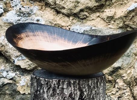 Scorched wood: Shou Sugi Ban