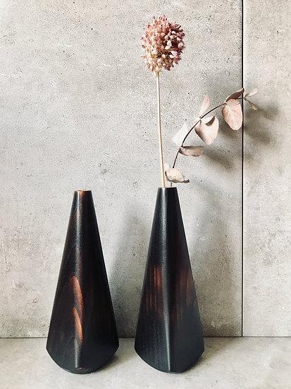 Scorched cherry bud vase - standard