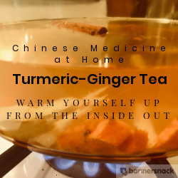 Warm up with Turmeric-Ginger Tea