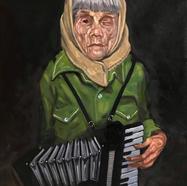 The Accordian Woman