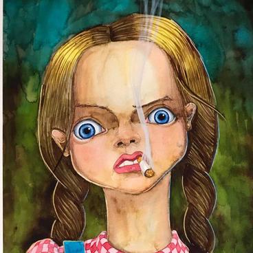 Smoking Sista