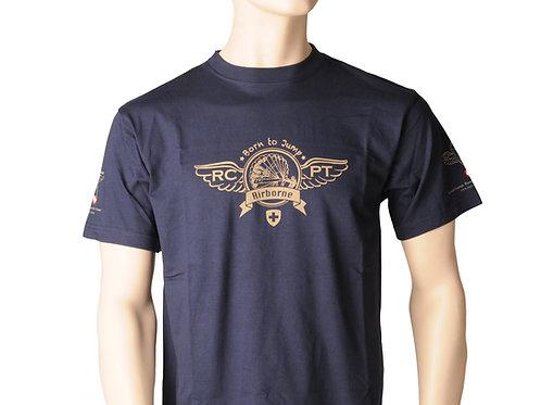 T-Shirt Navy Blau