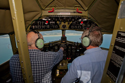 FEW IN TO THE COCKPIT