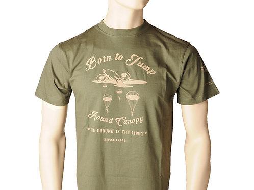 T-Shirt Olive Grün