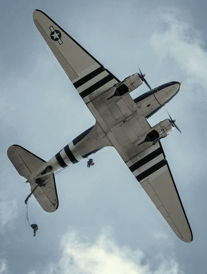 JUMP OUT OF C-47 MARKET GARDEN 2013