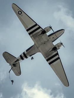 JUMP OUT OF C-47 MARKET GARDEN 2013