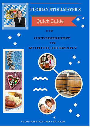 Paperback book  Florian Stollmayer's Quick Guide to the Oktoberfest AUTOGRAPHED + Signed Photo +CARD
