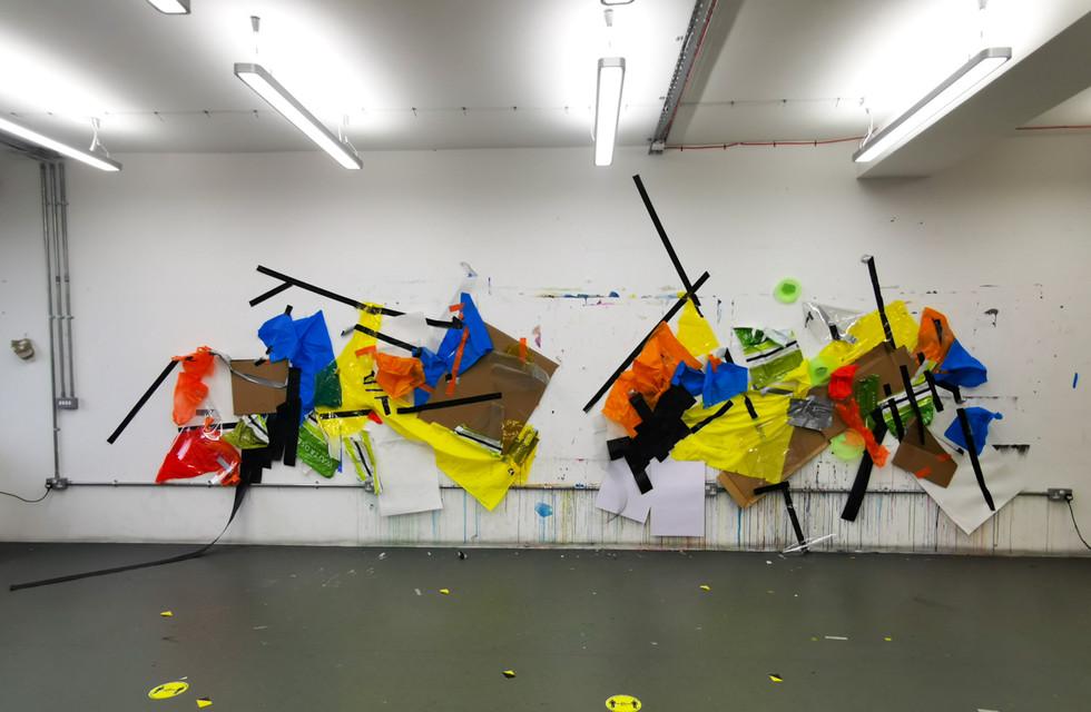 Mix Media  Studio Wall London, 2020