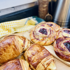 We love these Ham & Chesse Croissants!!