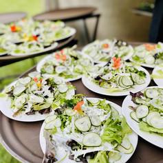 Farm Fresh Salads for a beautiful Xalapa Farm Wedding