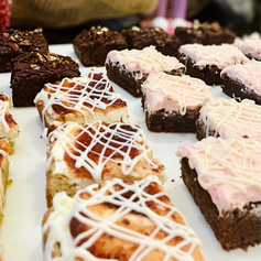 Brownies at Christmas - what could be better?