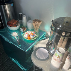 Dressing up the water cooler for that special morning meeting!